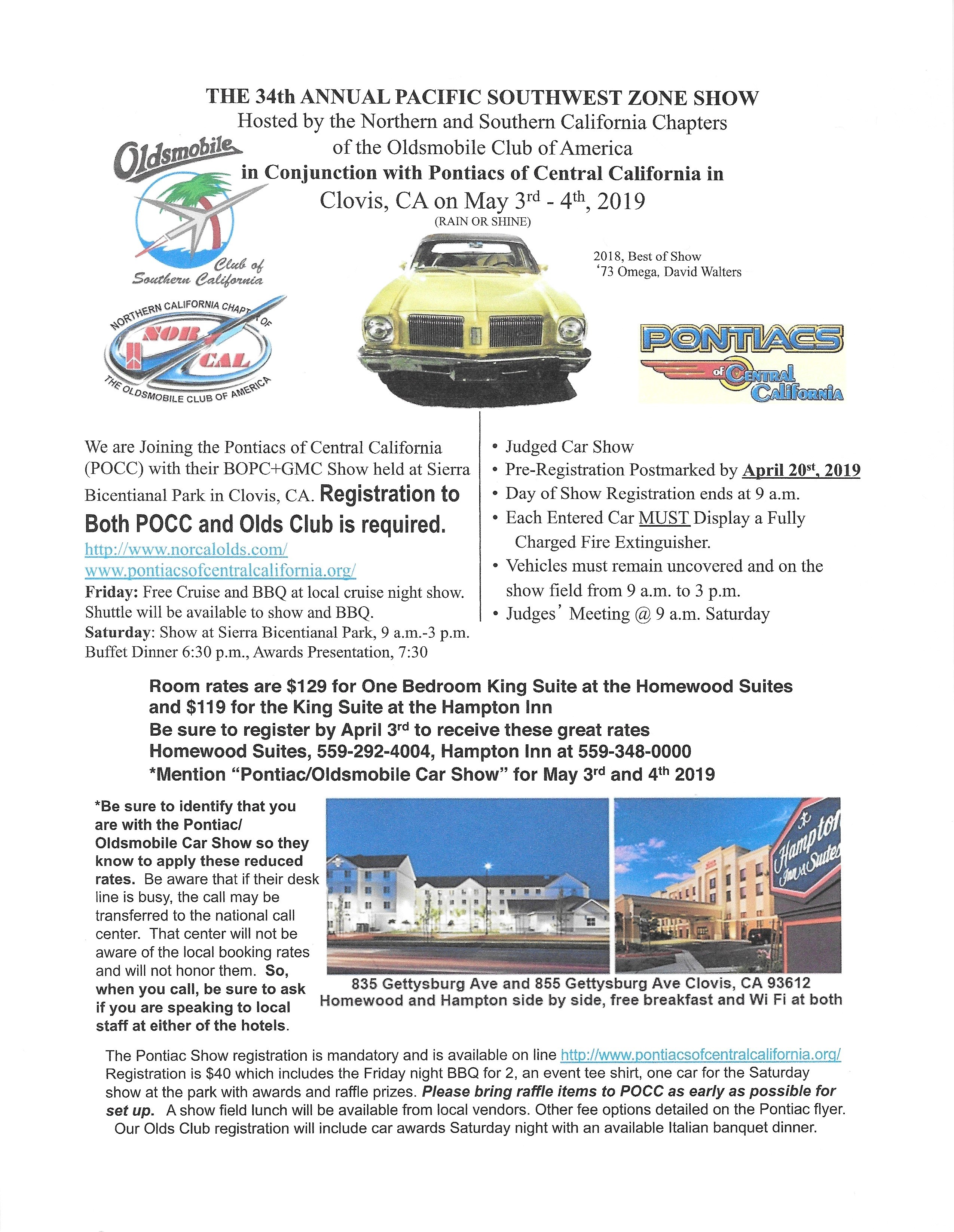 Club News-Events « Oldsmobile Club of Southern California